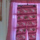 Hello Kitty Pink Sleep Wear Pants Size Large   12-14