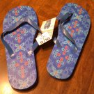 Ladies Blue Flip Flops Size 9/10