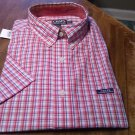 Ralph Lauren Chaps Short Sleeve Dress Shirt Size Large