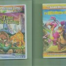2 The Land Before Time DVD Children Lot