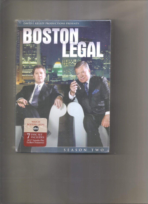 Boston Legal - Season 2 (DVD, 2006, 7-Disc Set)