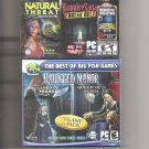 2 New & Sealed PC Game Lot Collector's Edition