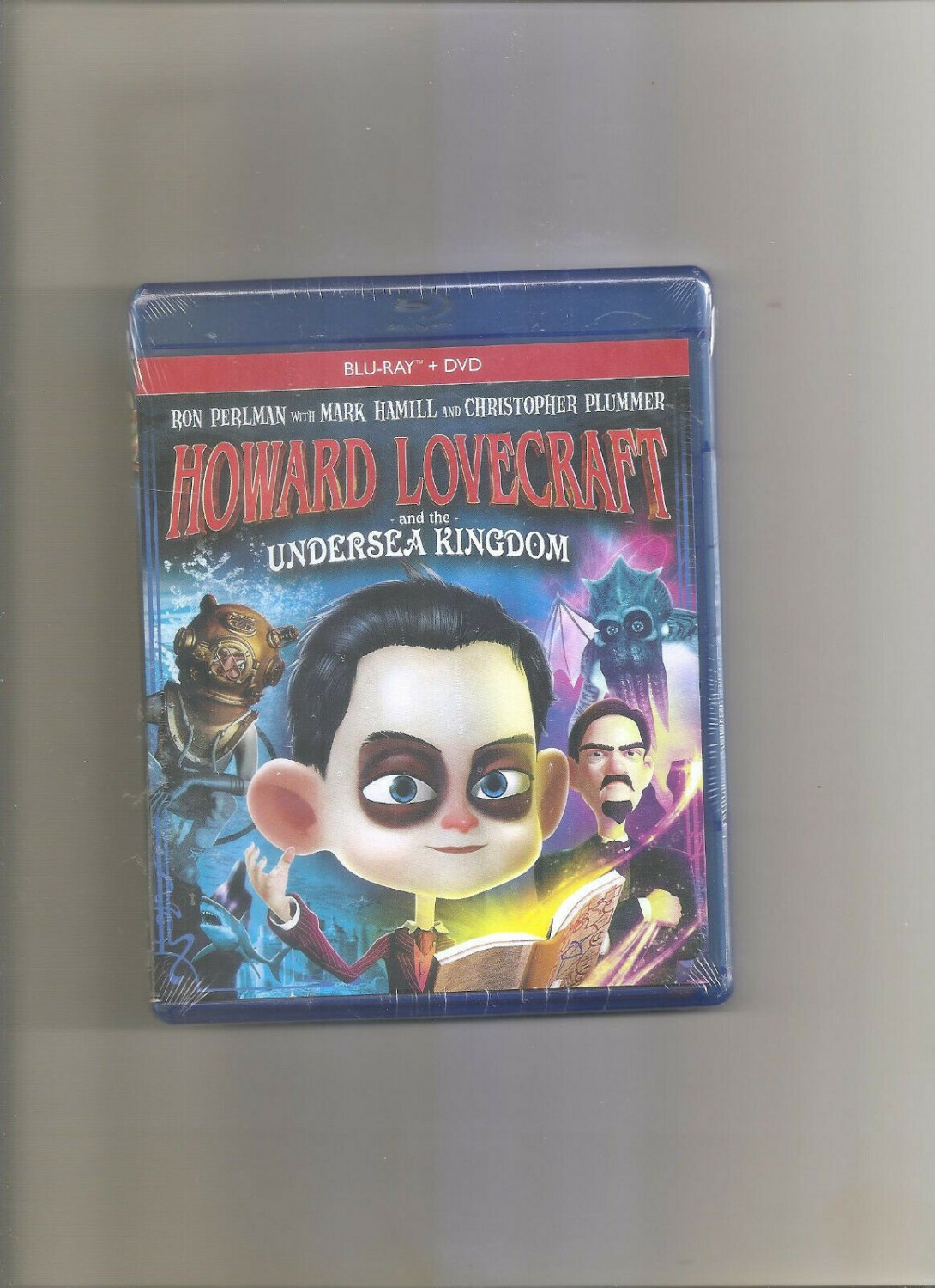 Howard Lovecraft and the Undersea Kingdom (Blu-ray Disc, 2017, 2-Disc Set)