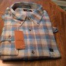 Haggar Long Sleeve Shirt Size XLarge 100% Cotton