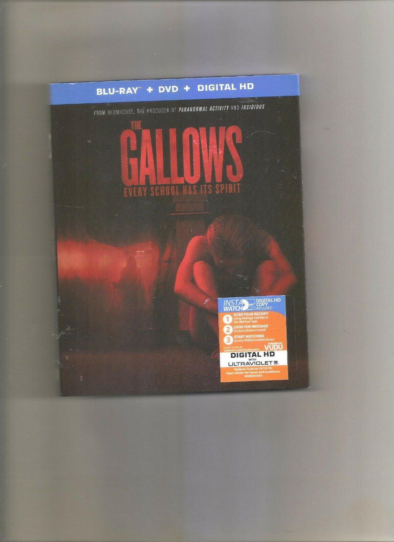 The Gallows (Blu-ray/DVD, 2015, 2-Disc Set) Blu-Ray + Dvd + Digital HD