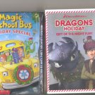 2 New & Sealed Children Family Dvd Movies Holiday