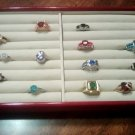 13 Piece Ring Lot Sizes 6 , 7 All New Mixed Colors