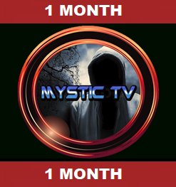 Mystic TV 1 Connection 1 IP 1 Month Service
