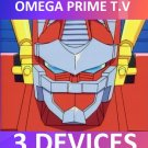 OMEGA PRIME TV 3 Connections 2 IP's 1 Month Service