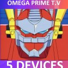 OMEGA PRIME TV 5 Connections 2 IPs 1 Month Service