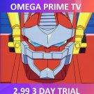 OMEGA PRIME TV 3 Day trial