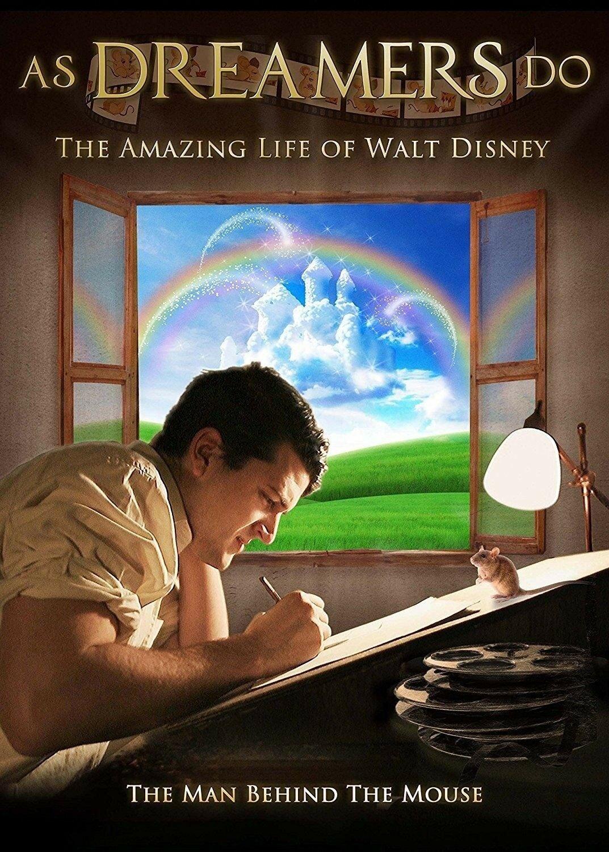As Dreamers Do: The Amazing Life of Walt Disney DVD