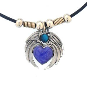 WINGED HEART EARTH SPIRIT NECKLACE