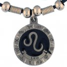 LEO ZODIAC SIGN EARTH SPIRIT NECKLACE