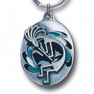KOKOPELLI SCULPTED ENAMELED KEY RING KEY CHAIN