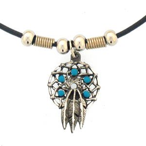 DREAM CATCHER EARTH SPIRIT NECKLACE