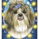 CRAZY ABOUT SHIH TZUS!  MAGNETIC 3D BOOKMARK