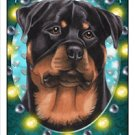 CRAZY ABOUT ROTTIES!  MAGNETIC 3D BOOKMARK