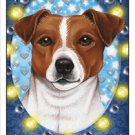 CRAZY ABOUT JACK RUSSELLS!  MAGNETIC 3D BOOKMARK