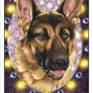 CRAZY ABOUT GERMAN SHEPHERDS!  MAGNETIC 3D BOOKMARK