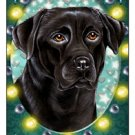 CRAZY ABOUT LABS! (BLACK) MAGNETIC 3D BOOKMARK