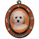 COCKAPOO SPINNING DOG KEY CHAIN