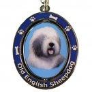 OLD ENGLISH SHEEPDOG SPINNING DOG KEY CHAIN