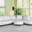 Modern Leather Section Sofa