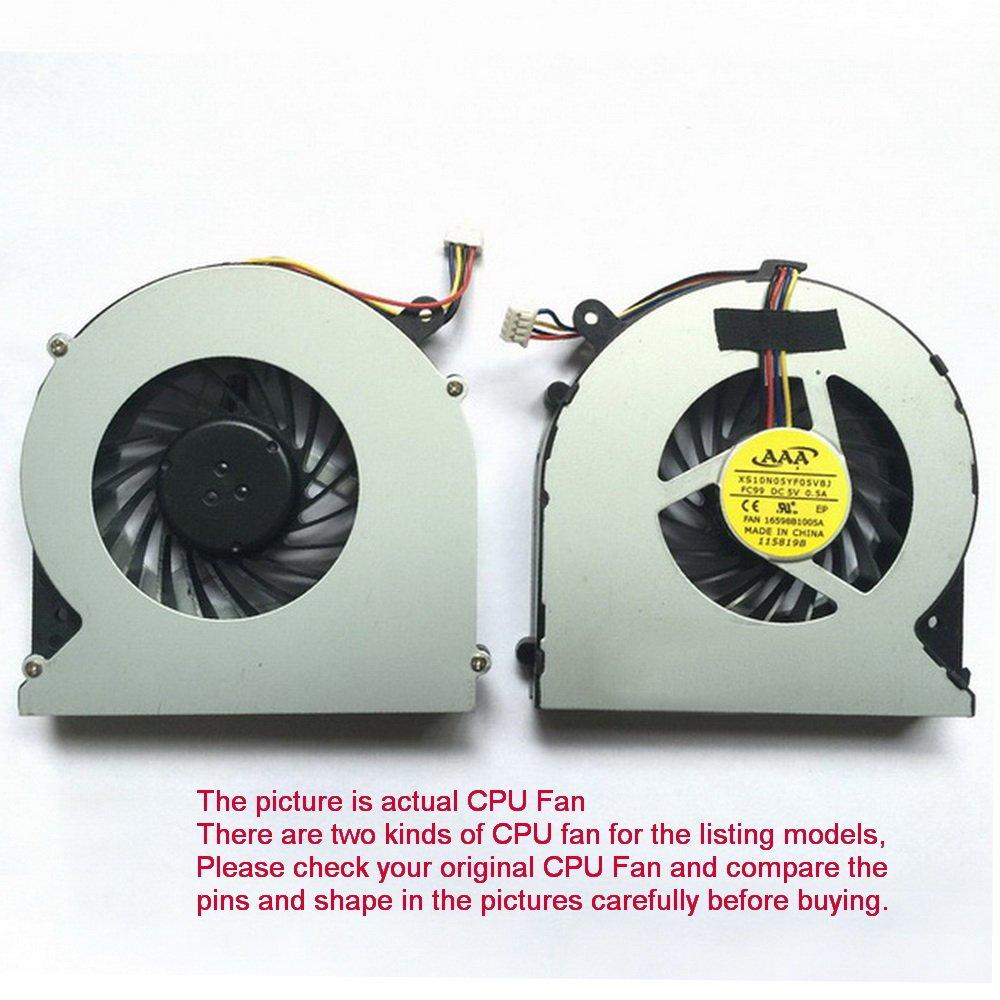 CPU Fan For Toshiba Satellite C870-134 C870-13D C870-13H C870-142 C870-143 4-Pin