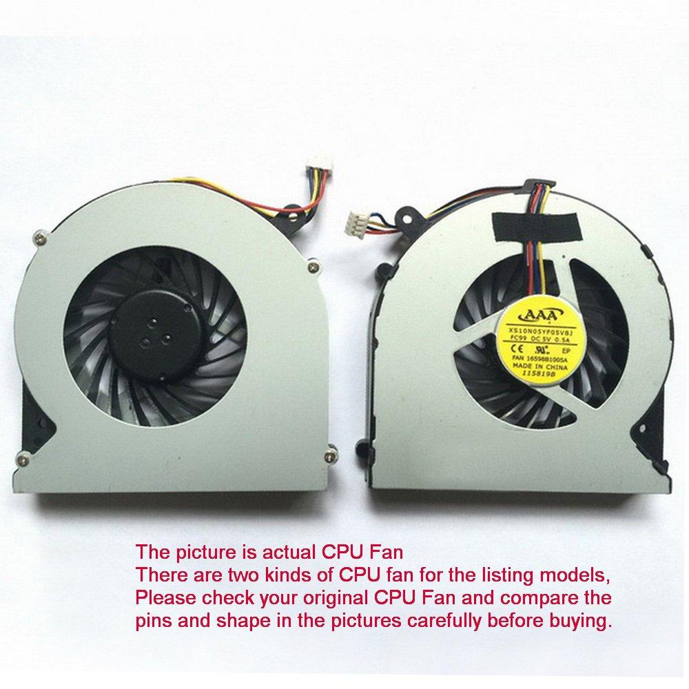 CPU Fan For Toshiba Satellite C850D-B616 C850D-B613 C850D-B614 C850D-B615 4-Pin
