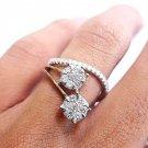 1.03 Carat Round Brilliant Diamond Ring 18K White Gold/Diamond Engagement Rings