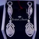 1.10 Carat Gold Diamond/Fashion Earrings Diamond//Genuine Natural Diamond/Wedding Diamond Earrings