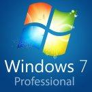 Microsoft Windows 7 Professional OEM 32/64 bit