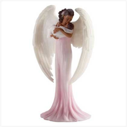 angel  holding infant
