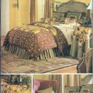 Butterick Waverly 3559 Decor Bedroom Bedding Duvet Comforter Pillow Sham Neck Roll