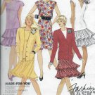 Vintage McCalls 4269 Women Jacket Top Skirt Size 16 Sewing Pattern Uncut Yr 1989