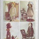 Vintage Simplicity 6006 Holly Hobby Stuffed Rag Doll and Wardrobe