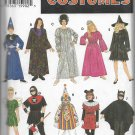 Simplicity 9175 Costumes Boys Girls Wizard Bat Fairy Mouse Sizes S M L