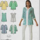 Simplicity 2448 Women Shirts Tunic Style Sizes 14, 16, 18, 20, 22 Sewing Pattern F/F Uncut