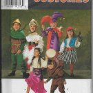 Simplicity 7294 Costumes Kids Pirates Gypsies Dancers Robin-hood Sizes S-M-L