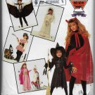 Simplicity 0632 Halloween Costumes, Children Sizes Small, Medium, Large, Girls and Boys