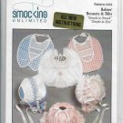 Smocking Unlimited Pattern 232 Babies Infants Bonnets and Bibs One Size