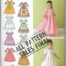 Child's Special Occasion Dress Simplicity 3545 Sewing Pattern Uncut
