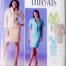 Simplicity 2452 Size US 6-14 Slim Line Skirt Jacket Front Variations Causal Dress Office Wear