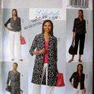 Butterick 5500 Dress Coat Pants Shorts Tops Casual Wear Wardrobe Easy Sew Sizes E5 14 16 18 20 22
