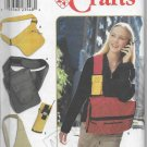 Simplicity 9000 School Carry All Bags Fanny Pack Cross Side Left Right Over Shoulder Totes Tab Close