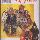 Simplicity Crafts 7345 Bakers Kitchen Witch Pumpkin Dolls Plus Clothes One Size by Faith Van Zanten