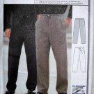 Burda 2605 Mens Sports Sweat Pants Casual Fit, Side Pockets, Sizes 34 36 38 40 42 44