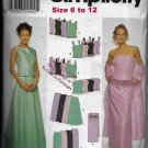 Simplicity 9466 Weddings Proms Tops Skirts Wrap Sizes 6 - 12 Sewing Pattern