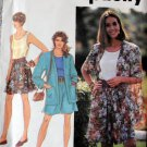 Vintage Simplicity 7677 Women Shorts Top Unlined Jacket Size A A PT-MD